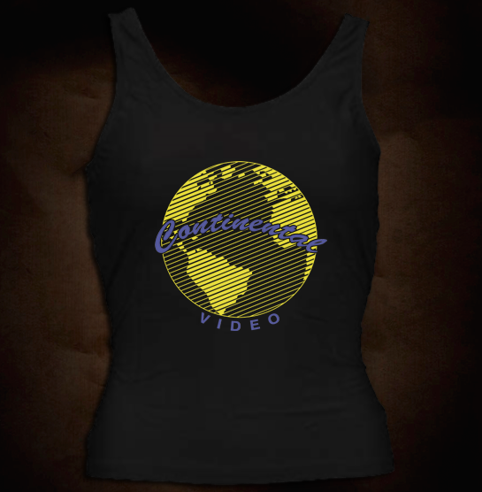 Continental Video Logo - Girl Tank