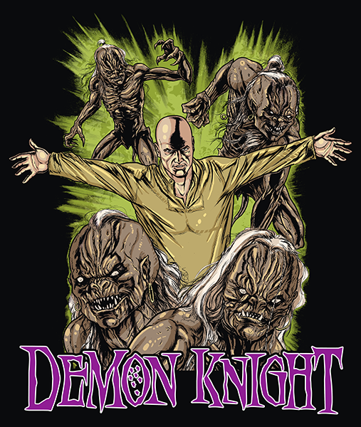 Demon Knight - Gildan Thick 6 oz T-Shirt