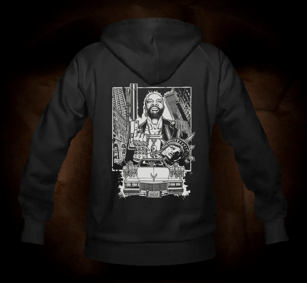 """The Duke"" One Color Classic - Hooded Sweatshirt"