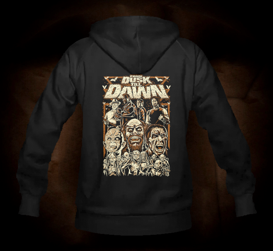 Dusk Till Dawn - Hooded Sweatshirt