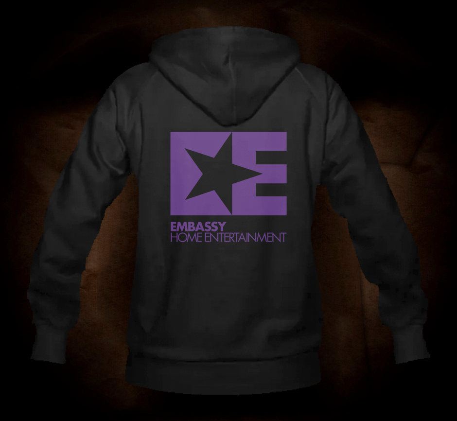 Embassy Entertainment Logo - Hooded Sweatshirt