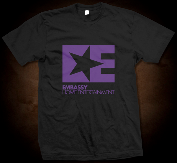 Embassy Entertainment Logo - Gildan Thick 6 oz T-Shirt
