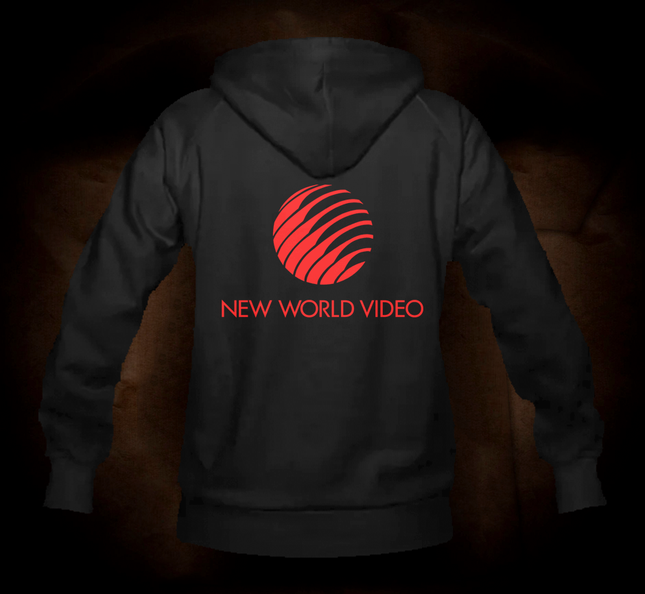 New World Video Logo - Hooded Sweatshirt