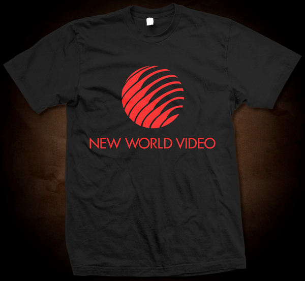 New World Video Logo - Gildan Thick 6 oz T-Shirt