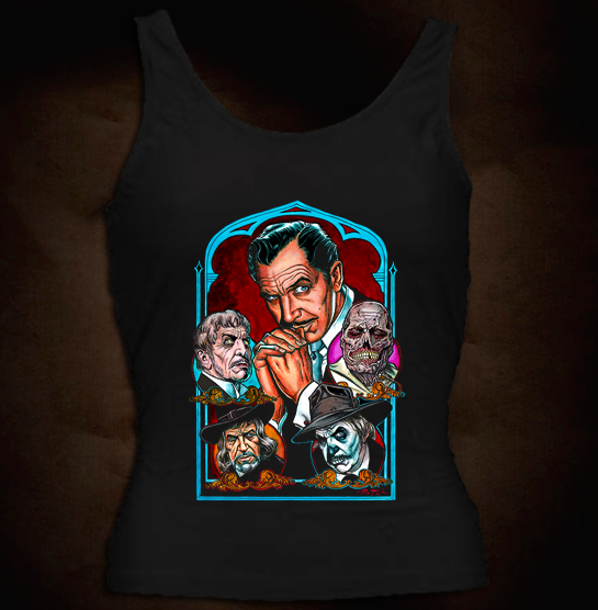 Official Vincent Price - Girl Tank