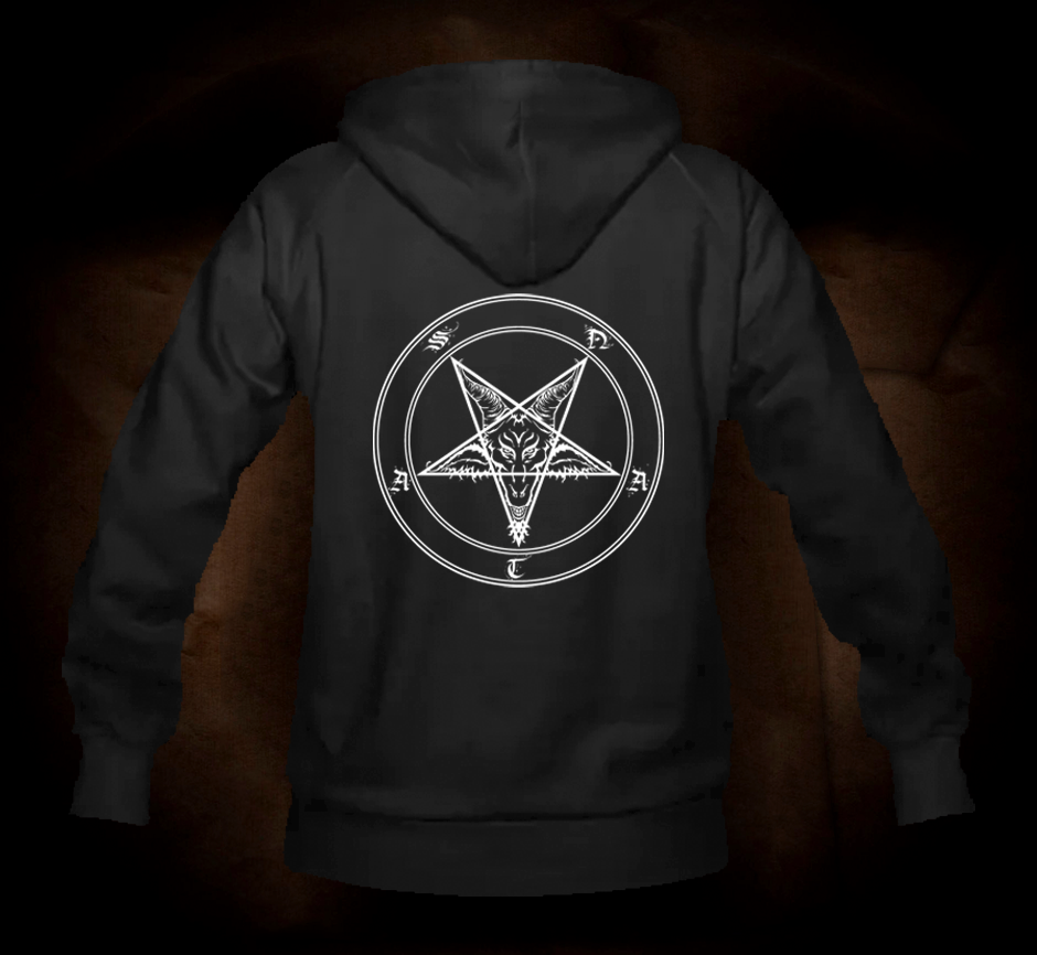 Rotten Pentagram - Hooded Sweatshirt