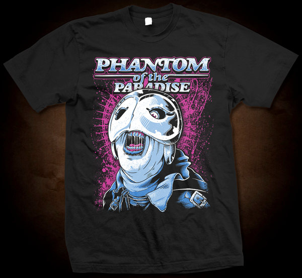 Phantom Of The Paradise - Gildan Soft 4.5 Ounce T-Shirt
