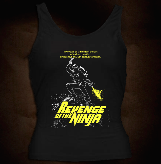 Revenge Of The Ninja - Girl Tank