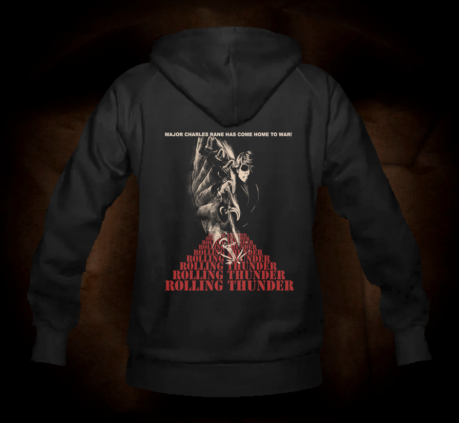 Rolling Thunder - Hooded Sweatshirt
