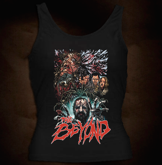 Official Grindhouse Line: The Beyond Design 2 - Girl Tank