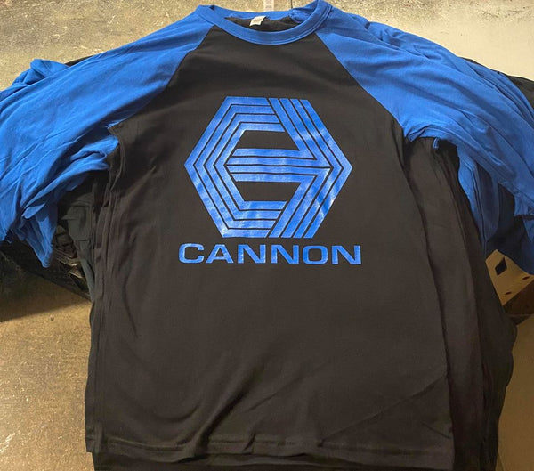 Hand Screened - Cannon Blue-Sleeve Jersey's!  **Limited Supply**