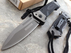 Best Military Swiss Army & Marines Spring Assisted Pocket Knife On Sale