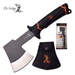 Rubber Handle Single Handed Axe