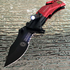 Unique Pocket Knife Firefighter Knife