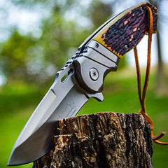Unique Pocket Knife Elk Ridge