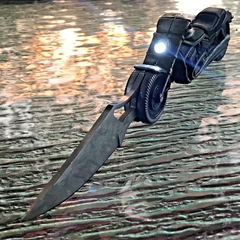 Unique Pocket Knife Motorcycle Knife