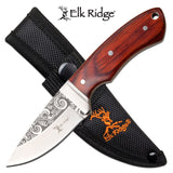 "6""  Elk Ridge Outdoor Full Tang Hunting Survival Knife ER-200-18WD - Frontier Blades"