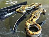 "8"" ZOMBIE KILLER KARAMBIT CLAW BLADE SPRING ASSISTED OPEN FOLDING POCKET KNIFE - Frontier Blades"