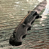 "7.75"" Tac Force Military Urban Camo Pocket Knife (TF-711UC) - Frontier Blades"