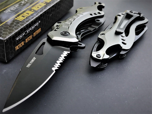 Tac Force Spring Assisted Tactical Folding Pocket Knives Wholesale Set - Frontier Blades