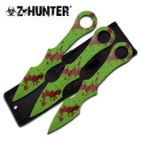 "9"" TACTICAL SURVIVAL Fixed Blade ZOMBIE THROWING MACHETE Hunting Full Tang Knife - Frontier Blades"