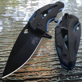 "8.0"" MASTER USA SPRING ASSISTED TACTICAL FOLDING POCKET KNIFE Blade Open Assist - Frontier Blades"