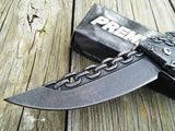 "8"" Tac Force Chain Link Stone Washed Fantasy Assisted Pocket Knife - Frontier Blades"