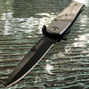 "7"" TAC FORCE PEARL HANDLE ASSISTED OPEN OUTDOOR FOLDING POCKET KNIFE TF-438PB - Frontier Blades"