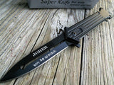 "The Dark Knight Joker Knife ""Why So Serious"" - Frontier Blades"