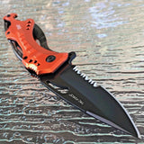 "8"" TAC FORCE ASSISTED OPEN EMT RESCUE CAMPING FOLDING KNIFE TF-705EMS - Frontier Blades"