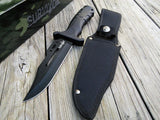 "13"" Survivor Brand Knife Survival Hunting Fixed Blade Bowie Boot Knife - Frontier Blades"