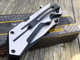 TAC FORCE TANTO BLADE SPRING ASSISTED TACTICAL SATIN Folding Pocket Knife Switch - Frontier Blades