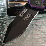 "TAC FORCE TF-759BP PURPLE DRAGON SPRING ASSISTED FOLDING KNIFE 7.25"" - Frontier Blades"