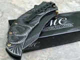 Master Collection MCA014SW Spring Assisted Fantasy Pocket Knife - Frontier Blades