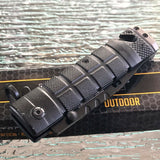 Tac Force Military Bayonet Carbon Assisted Sawback Tactical Knife - Frontier Blades