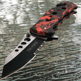 TAC FORCE SPRING ASSISTED TACTICAL FOLDING KNIFE Blade Pocket Tactical Open SET - Frontier Blades