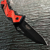 "8"" MASTER USA SPRING ASSISTED TACTICAL FOLDING POCKET KNIFE Blade Open Assist - Frontier Blades"