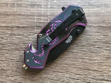 Tac Force Mini Purple Dragon Strike Assisted Fantasy Pocket Knife Sale - Frontier Blades