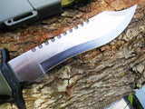 "OUTDOOR HUNTING & SURVIVOR FULL TANG 12"" FIXED BLADE KNIFE w/ SHEATH HK-6001S - Frontier Blades"