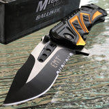 "8"" MTECH EMT EMS EMERGENCY RESCUE SPRING ASSISTED FOLDING POCKET KNIFE Open New - Frontier Blades"