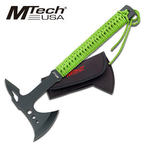"15"" MTech USA Survival Tactical Axe Zombie Fantasy Camping Hatchet - Frontier Blades"