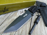 "TACTICAL COMBAT 7.0"" SURVIVAL TANTO HUNTING KNIFE BOWIE FIXED BLADE HK-760 - Frontier Blades"