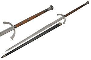 "63"" Handmade Two Handed Battle Tested Wood Handle Greatsword (BT-2704)"