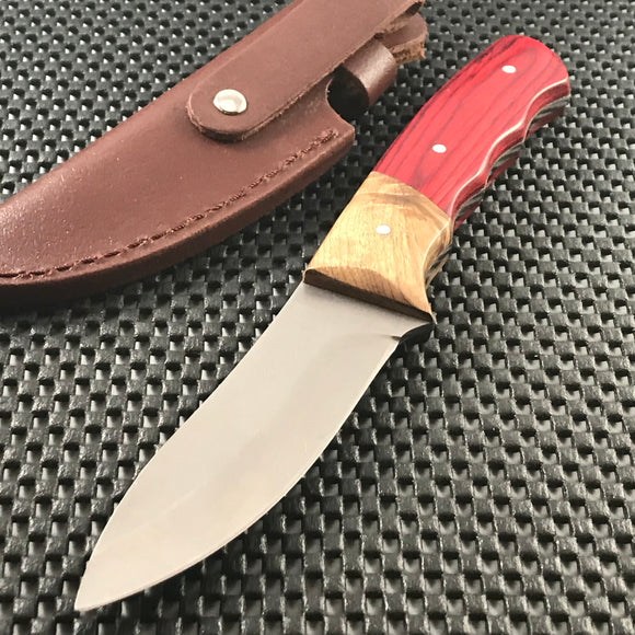 ELK RIDGE ER-130 FIXED BLADE OUT DOOR HUNTING CAMPING KNIFE 8.5