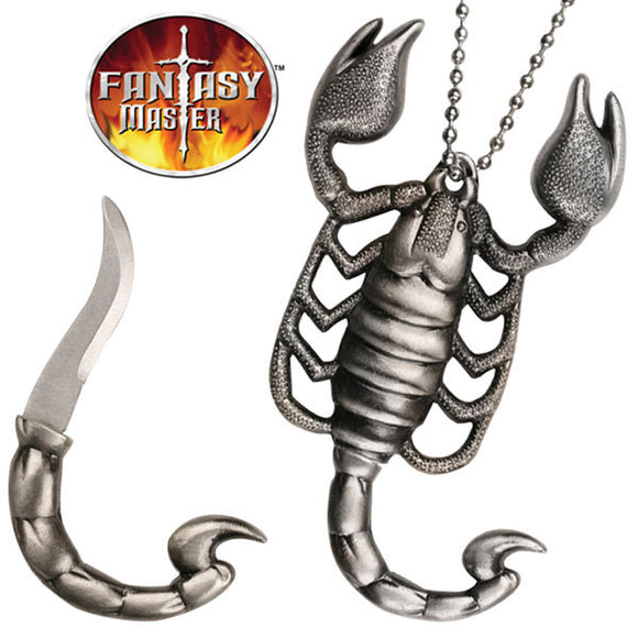 Fantasy Master Scorpion Necklace Knife (FM-440) - Frontier Blades