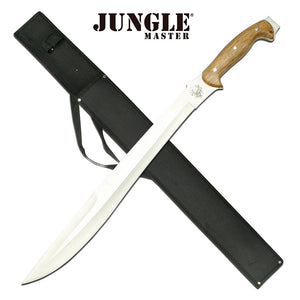 "JUNGLE MASTER JM-010 OUTDOOR CAMPING MACHETE 25.0"" - Frontier Blades"