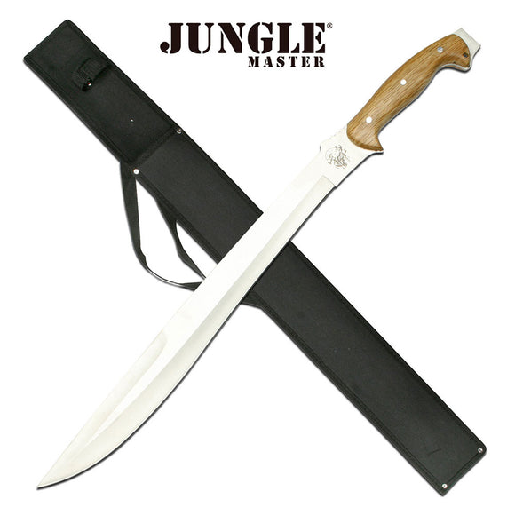JUNGLE MASTER JM-010 OUTDOOR CAMPING SCOUTING SURVIVAL MACHETE 25.0