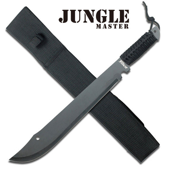 JUNGLE MASTER JM-021 OUTDOOR CAMPING SCOUTING SURVIVAL MACHETE 21.0