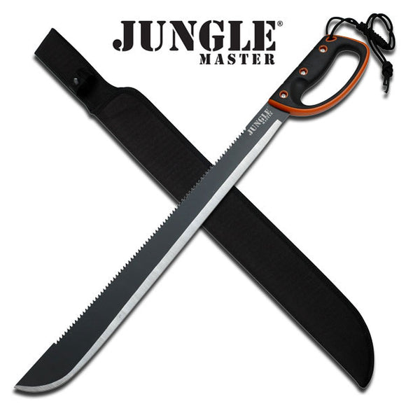 JUNGLE MASTER JM-024L OUTDOOR CAMPING SCOUTING SURVIVAL MACHETE 28.0