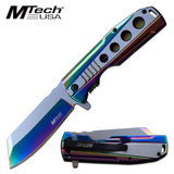 "8.25"" Reverse Tanto Blade MTech USA Pocket Knife (MT-A1107RB) - Frontier Blades"